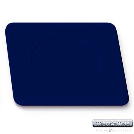 Sousplat Quadrado 350x350mm Azul - Tramontina Design Collection - 13015608