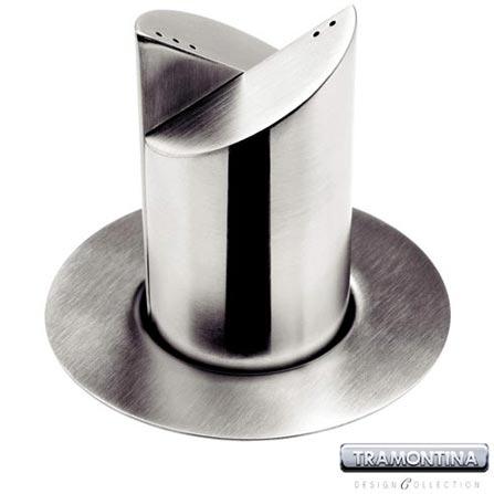 Jogo para Sal e Pimenta em Aço Inox Cosmos - Tramontina Design Collection – 64310840