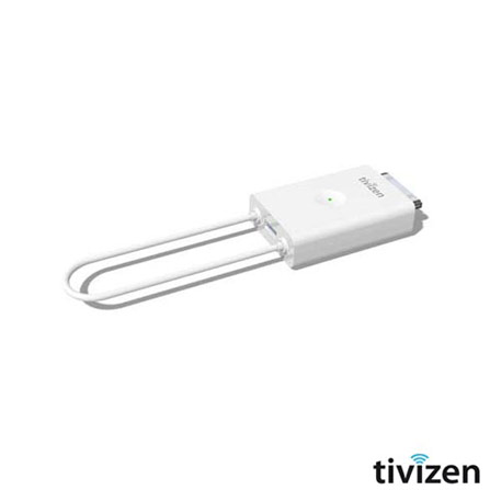 Receptor de TV para iPhone, iPad e iPod Tivizen, Branco