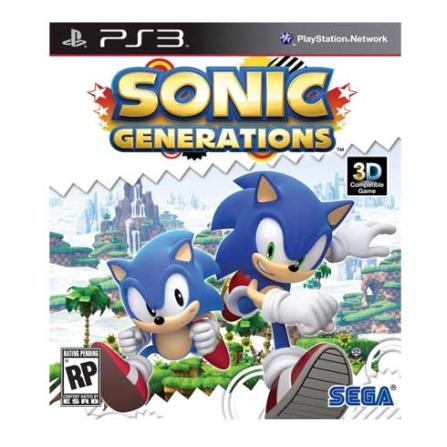 Jogo Sonic Generations para PS3 - SONICGENERAT