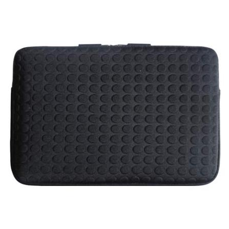 Capa Sleeve Dots Preto para Macbook 13
