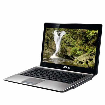 Notebook Asus c/ 2ª Geração Processador Intel Core i5-2410M, 8GB, 750GB HD, Tela de 14