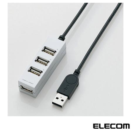 HUB USB para PC e Mac Elecom U2H-AP001B