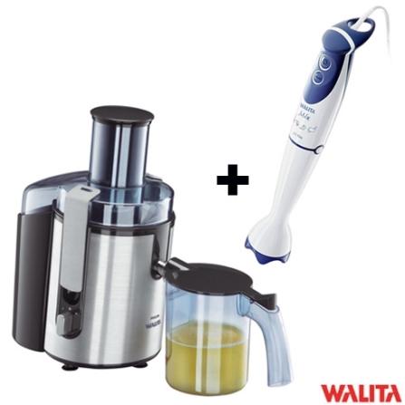 Centrífuga 700W Aluminium + Mixer 2 em 1 Branco - Walita - CJ18611363, 110V