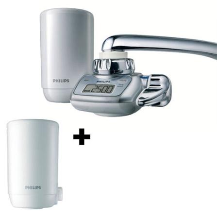(Ver separado) Filtro de Água com Visor LCD / Filtro Micro Pure / Filtro Pure Taste - Branco + Refil para Filtro de Água