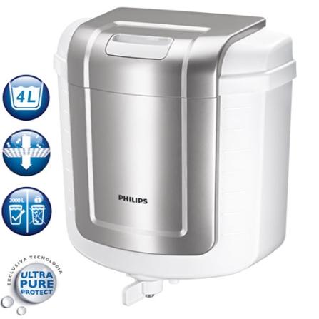 Filtro de Agua / Membrana Ultra Pure Protect / Trava Ultra Pure Protect / Branco e Cinza - Philips - WP3870_01, Branco e Cinza