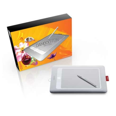Mesa Digitalizadora Bamboo Multi-Touch Prata - Wacon - CTH661L