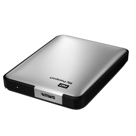 HD Externo WD 1 TB My Passport Essential SE USB 3.0 WDBBEP0010BSL Prata