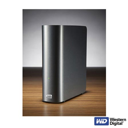 HDD Externo 2 TB WD My Book Live com Interface Gigabit Ethernet