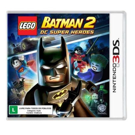 Jogo Lego Batman 2 BR para Nintendo 3DS - Warner - 3DLEGOBATMA2