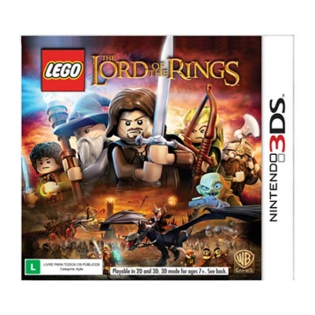 Jogo LEGO: The Lord Of The Rings para Nintendo 3DS