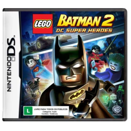 Jogo Lego Batman 2 BR para Nintendo DS - Warner - DSLEGOBATMA2