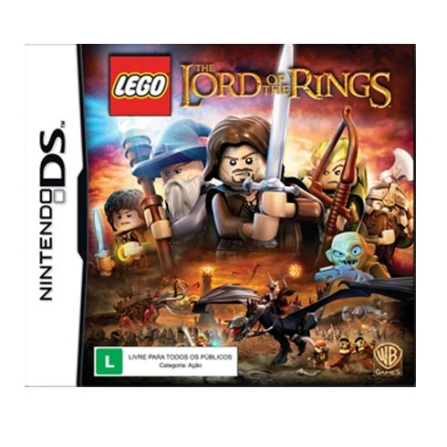 Jogo LEGO: The Lord Of The Rings para Nintendo DS