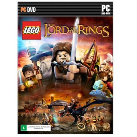 Jogo LEGO: The Lord Of The Rings para PC