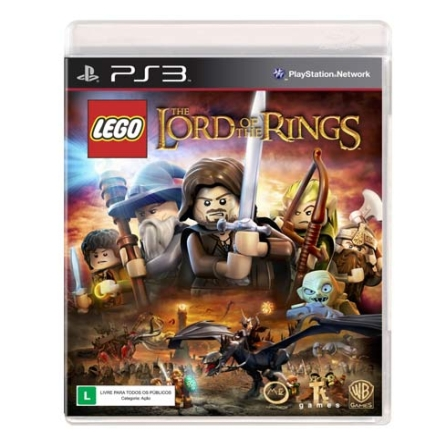 Jogo LEGO: The Lord Of The Rings para PS3