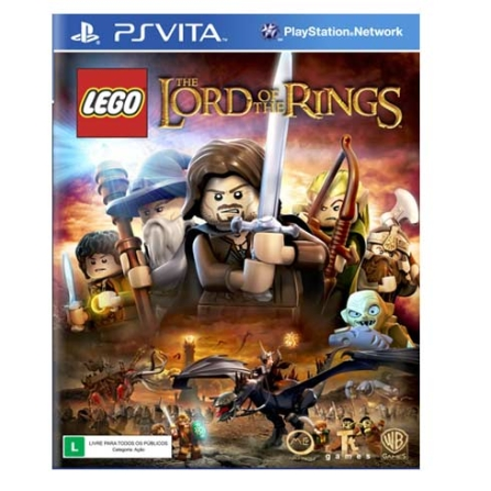 Jogo LEGO: The Lord Of The Rings para PS Vita