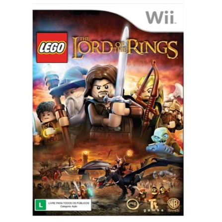 Jogo LEGO: The Lord Of The Rings para Nintendo Wii