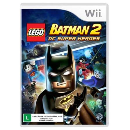 Jogo Lego Batman 2 BR para Nintendo Wii - Warner - WILEGBATMAN2