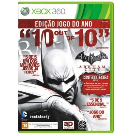 Jogo Batman : Arkham City Goty para XBOX 360