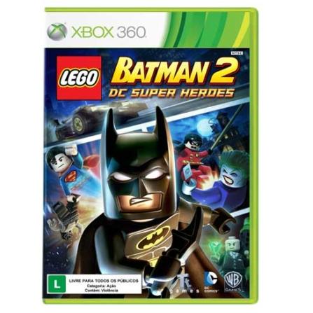 Jogo Lego Batman 2 BR para XBOX 360 - XBLEGOBATMA2