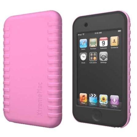 Capa Rosa de Silicone para iPod touch 2° Geração - Xtreme - IPTTW210, Rosa, 03 meses
