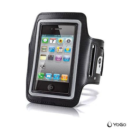 Braçadeira para iPhone 5, iPod Touch e Galaxy Yogo, 03 meses