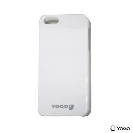 Capa Protetora para iPhone 5 Branca Yogo, Branco, 03 meses