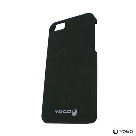 Capa Protetora para iPhone 5 em Couro Yogo YG5002BK, 06 meses