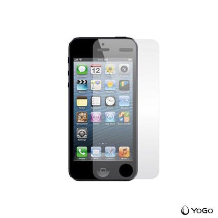 Película Protetora para iPhone 5, 5c e 5s Antirreflexo Transparente - Yogo - 501, Não se aplica